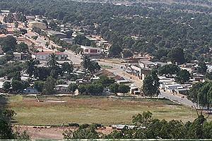 Depois da reabilitação e asfaltagem das suas vias a cidade do Bailundo está em processo de construção de infra-estruturas sociais