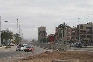 Uma nova zona residencial está a nascer na cidade portuária do Lobito