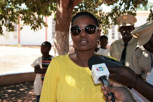 Administradora municipal Teresa Dias de Abreu