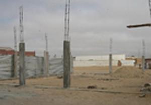As obras no Namibe aumentam a procura de materiais de construção