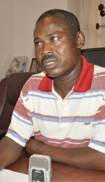 Director provincial António Muvundeno