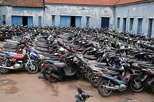 De Julho a Setembro foram apreendidas mais de mil motorizadas em Malange