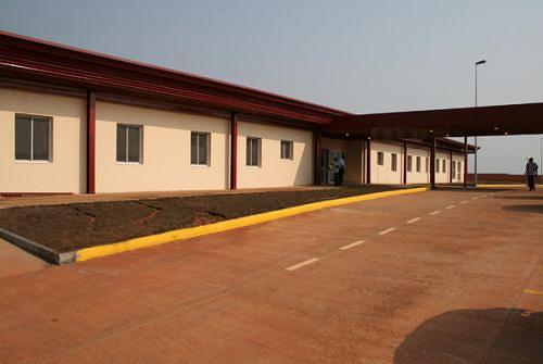 As obras do novo Hospital Municipal com capacidade para internar cerca de 120 doentes estão em fase final de conclusão