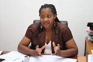 Directora provincial do MINARS