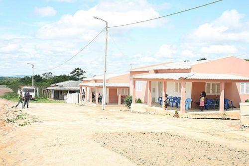 Novas residências foram construídas para albergar os funcionários públicos
