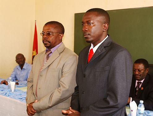 Procurador Adão do Nascimento e juiz Tyamba foram apresentados às populações
