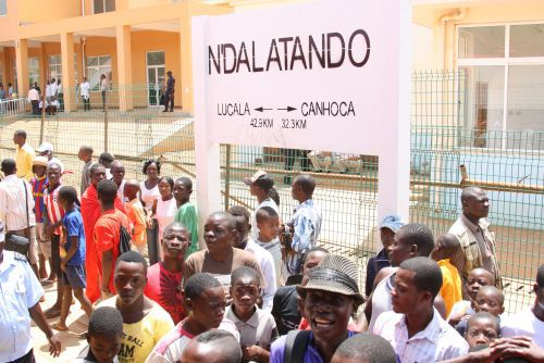 População de Ndalatando mostraram-se satisfeita