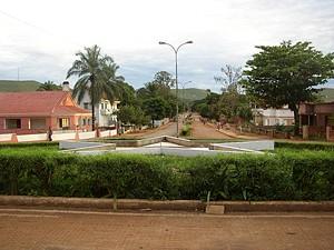 Vista parcial da cidade de Ndalatando que passa a ter energia eléctrica estabilizada fruto dos investimentos feitos nos últimos anos