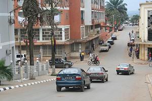 Vista parcial da cidade que vai passar a ter melhor abastecimento e fornecimento de água potável e de energia eléctrica