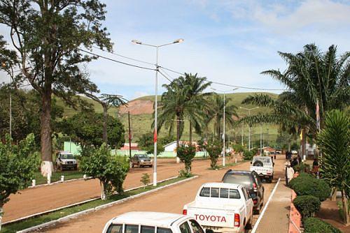 Várias obras de impacto social estão em curso na região para melhorar o nível de vida dos cidadãos e a imagem da urbe