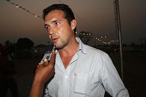 José Marques é turista português