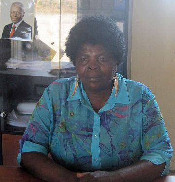 Administradora Faustina Mbundo