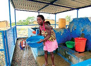 O abastecimento de água potável deixou de ser uma preocupação para os habitantes