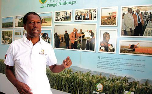 Abel Sousa director da Fazenda Pungo Andongo aponta a necessidade premente de unidade ser abastecida com energia a partir da Barragem de Kapanda