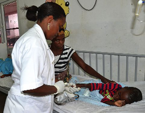 Na saúde a mulher dá o seu contributo à sociedade