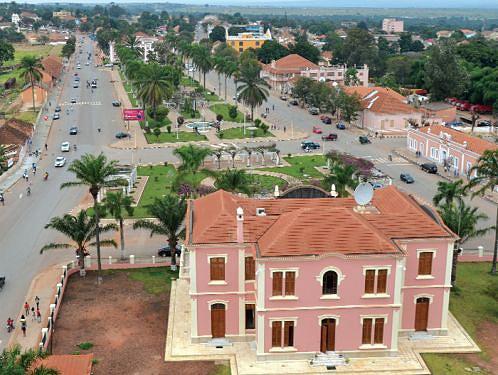 Vista parcial da cidade de Malanje