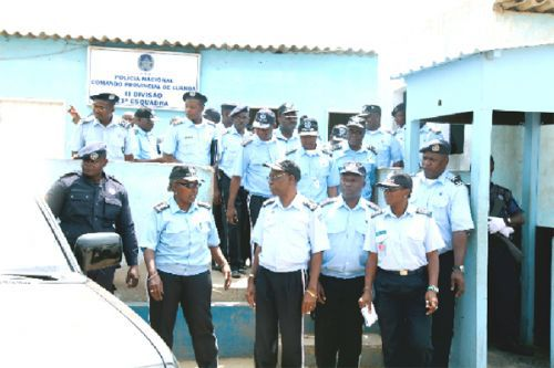 Comando da Polícia Nacional está empenhado na modernização das estruturas em todo o país e na formação dos quadros para responder aos novos desafios que tem pela frente