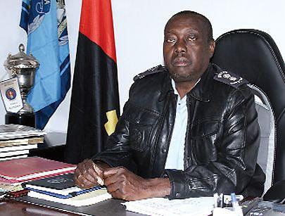 Comandante provincial da Polícia Nacional comissário Tomé Laureano Neto