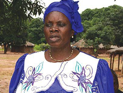 Directora provincial da Assistência e Reinserção Social Natália Ikulo