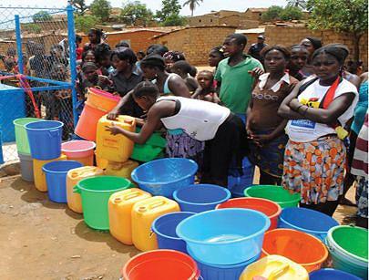O nível de cobertura de abastecimento de água potável conheceu um aumento considerável