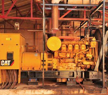 O fornecimento de energia à cidade de Menongue é feita por uma central termoeléctrica