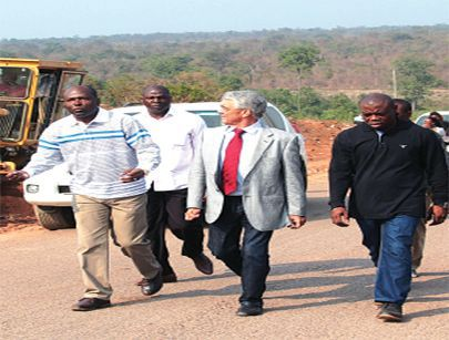 Governador Ernesto Muangala tem estado a acompanhar o andamento dos trabalhos
