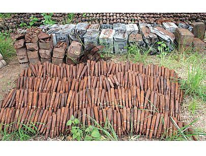 Vastas áreas da provincia do Zaire ficaram livres de engenhos explosivos e a circulação ja se faz com toda segurança.