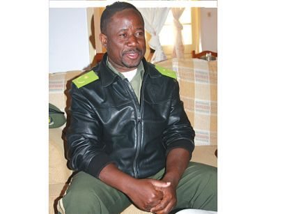 Thiama Samuel Jamba director dos Serviços Prisionais da província do Namibe