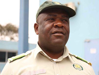 Director provincial de Luanda dos Serviços Prisionais Correia Moço