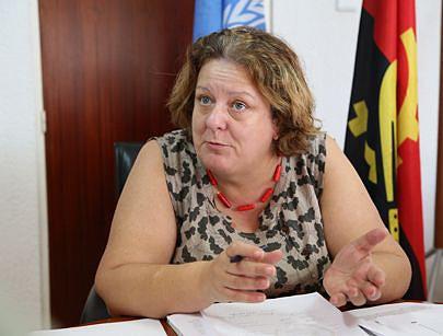 Coordenadora do Sistema das Nações Unidas em Angola Maria Valle Ribeiro