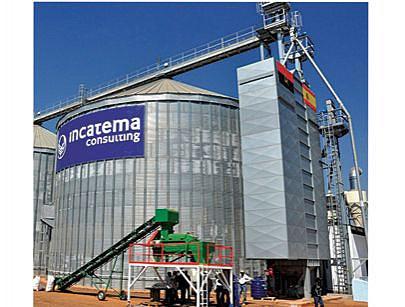 Estão a ser construídos silos e câmaras para a conservação de cereais e outros produtos