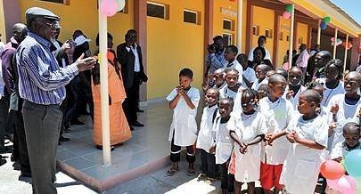 A construção de infra-estruturas escolares na província da Huíla está a permitir ingresso de mais crianças no sistema de ensino
