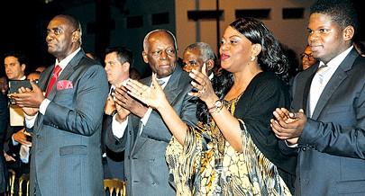 Presidente da República e a Primeira Dama participaram na cerimónia em que foram apresentados vários projectos sociais