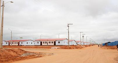 O bairro social Zango foi criado há mais de dez anos para receber famílias que vivem em áreas consideradas de risco em Luanda