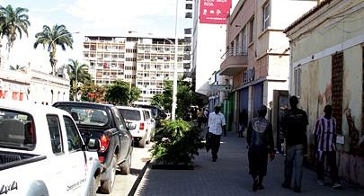 Vista parcial da cidade de Benguela onde estão em curso diversas acções de impacto social