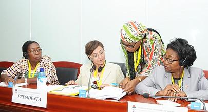 Reunião da Internacional Socialista das Mulheres que decorreu em Luanda defendeu o envolvimento da sociedade civil na implantação e avaliação de base de dados sobre a igualdade de género