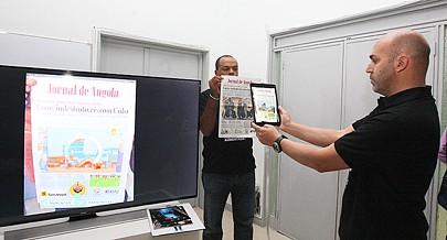 Realidade Aumentada é uma tecnologia que permite activar conteúdos de forma digital através de um smartphone ou tablet  bastando apontar para a imagem