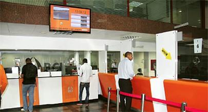 Há investimentos para abertura de mais balcões em várias municípios do país devido os serviços