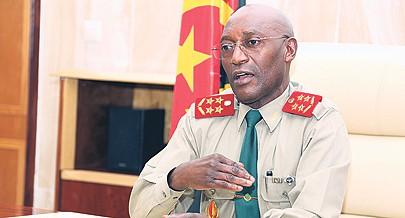 Chefe de Estado-Maior General destaca as vantagens do processo de reedificação em curso