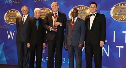 Presidente do conselho de administração José Ribeiro dedicou o prémio ao Presidente de Angola