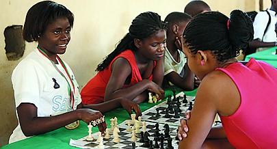 A escola está a formar verdadeiras campeãs apesar das condições serem deficientes