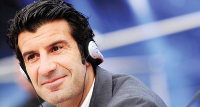 Figo defendeu o alargamento do Mundial