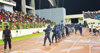 As forças do Ministério do Interior participaram na segurança do CAN na Guine Equatorial onde foram bastante elogiados