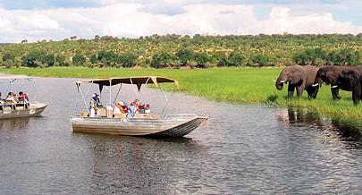 Organização ''National Geographição'' desenvolveu o mesmo trabalho nas regiões do Botswana e do Zimbabawe que fazem parte do Projecto Okavango Zambeze
