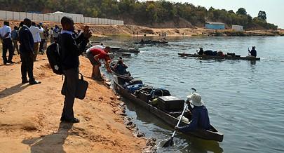 Cientistas e navegadores bem como operadores de câmara começaram o trabalho na nascente do rio Cuito até à vila de Cuito Cuanavale