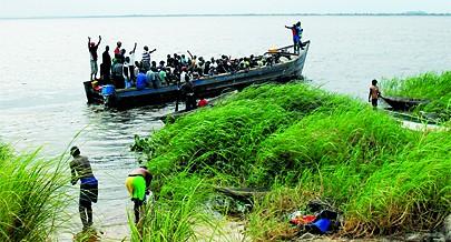 A situação migratória no Zaire é preocupante devido à sua localização geográfica e à complexidade das fronteiras
