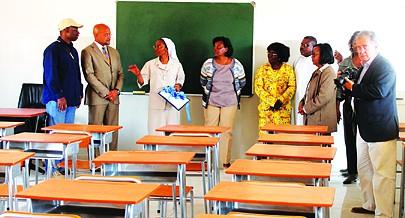 Irmã Teresa considerou a falta de professores como um dos maiores problemas da Missão e apelou para a atracção de docentes