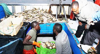 Pescadores prejudicados pelo derrame