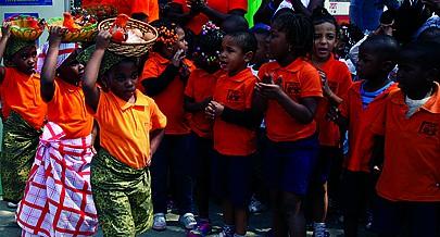 Vários programas de protecção e desenvolvimento integral das crianças angolanas estão em curso em todas as provincias