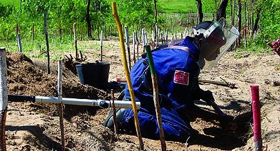 Processo de desminagem contribui para a expansão das áreas de cultivo no país